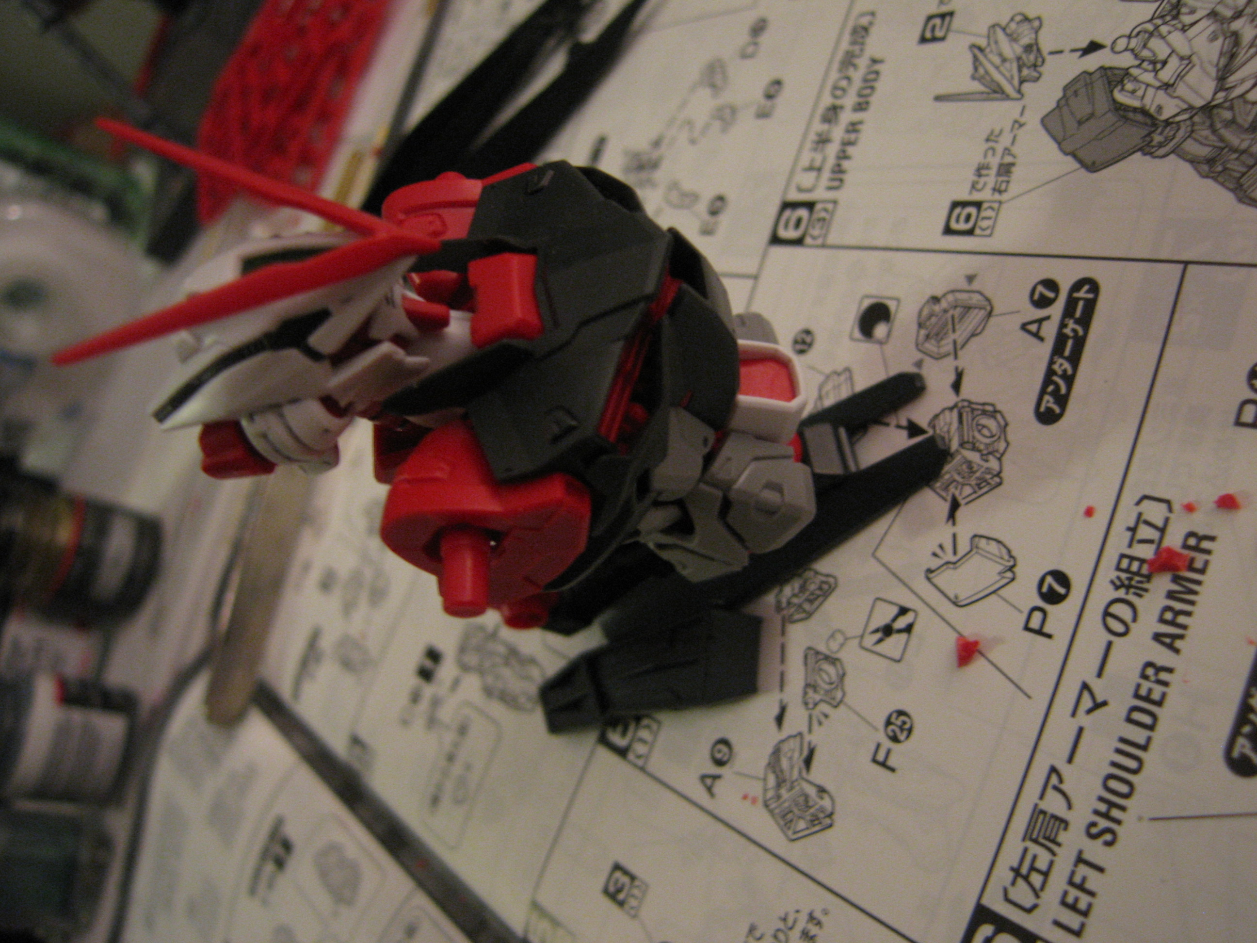 Model Update! MG Astray Red frame Kai | Raining Plastic