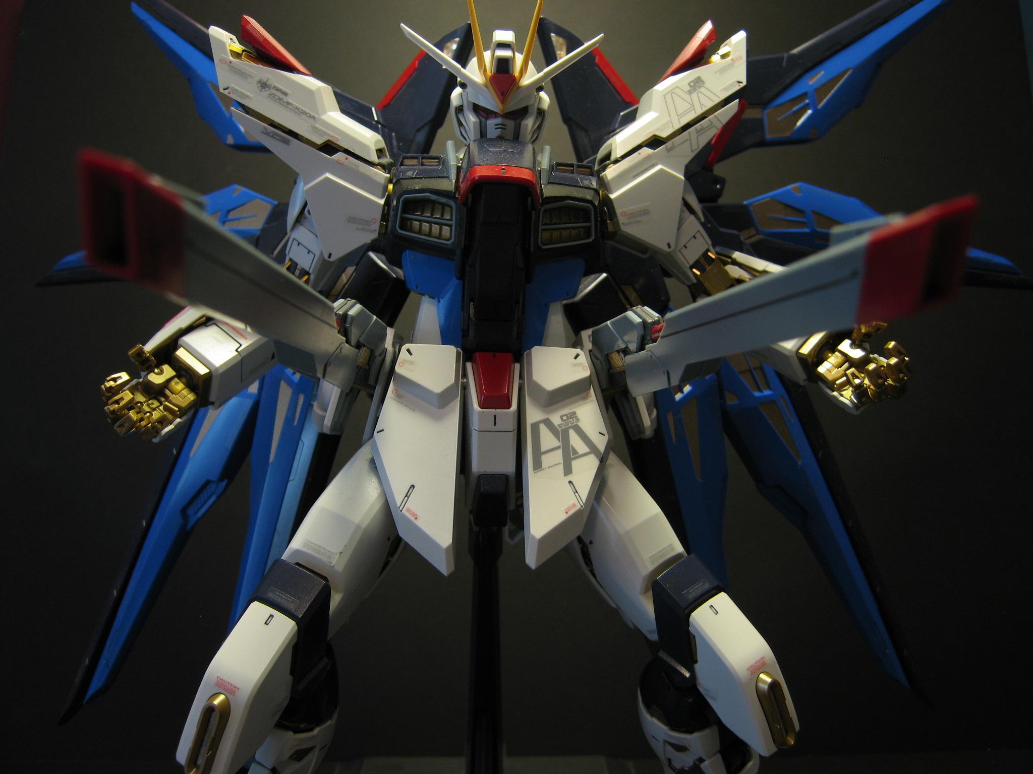 ZGMF-X20A Strike Freedom Gundam wallpaper